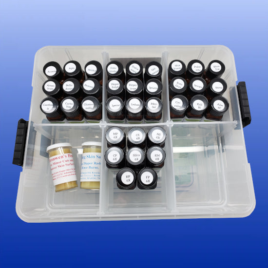Homeopathic Home Care Remedy Kit