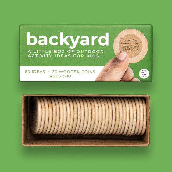 Idea Box - Backyard - Outdoor Nature Activities for Kids