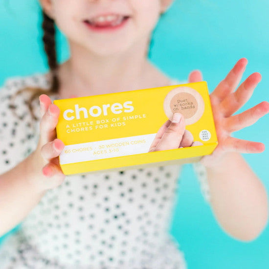 Idea Box - Chores - Simple Chores for Kids
