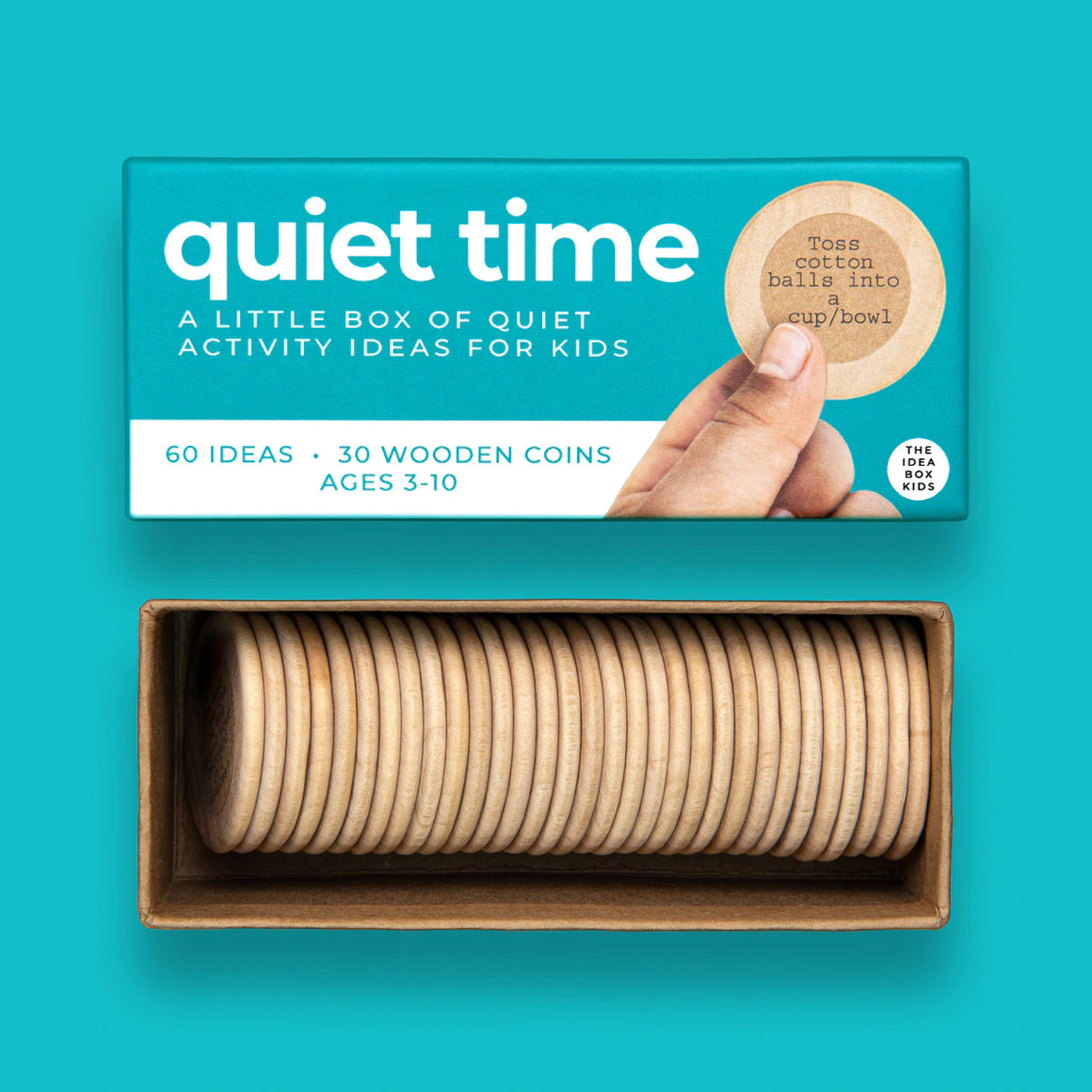 Idea Box - Quiet Time - Quiet Indoor Activities for Kids