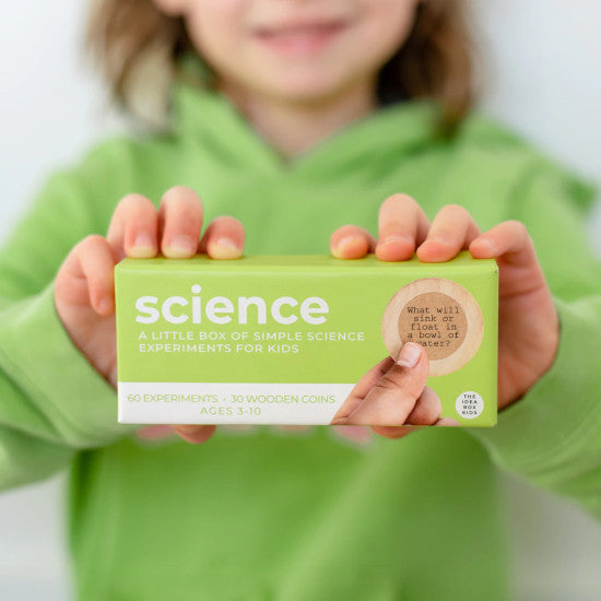 Idea Box - Science - Simple Science Experiments for Kids