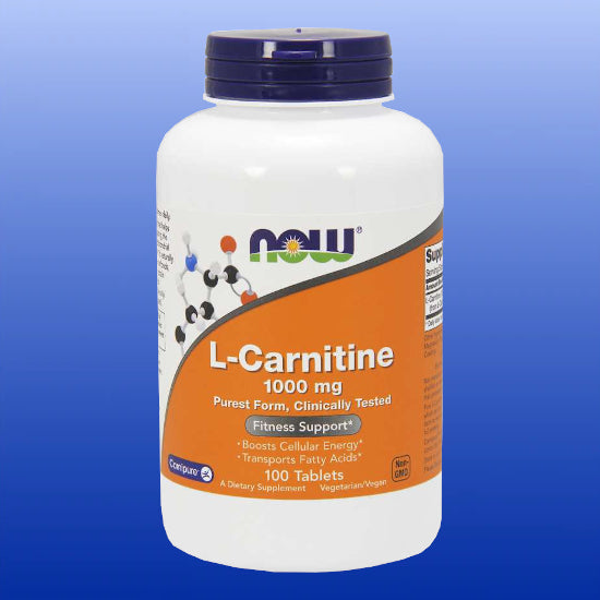 L-Carnitine 1000 mg 100 Tablets