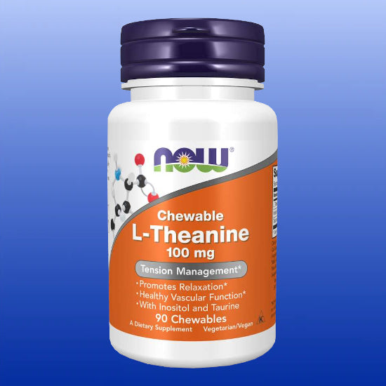 L-Theanine Chewables 100 mg 90 Lozenges