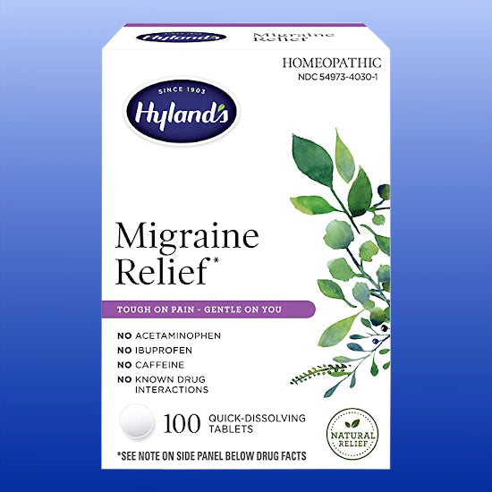 Migraine Headache Relief 100 Tablets
