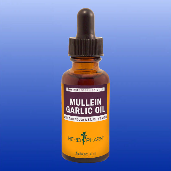 Mullein Garlic Oil 1 Oz