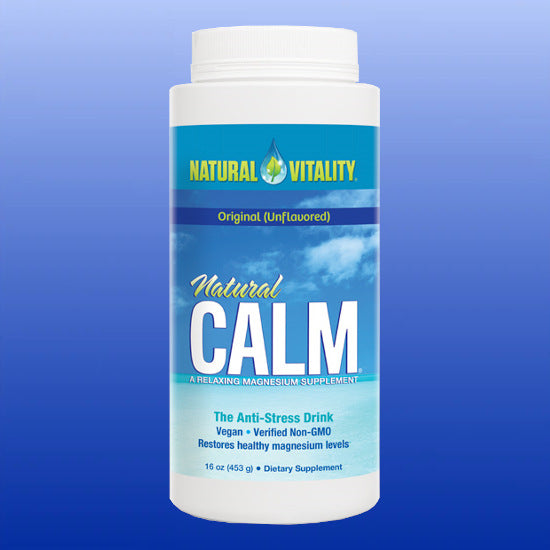 Natural Calm Unflavored 16 oz powder