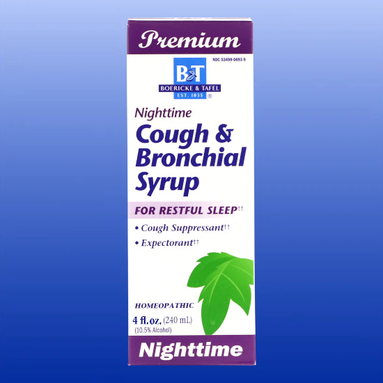 Nighttime Cough & Bronchial Syrup 4 Oz