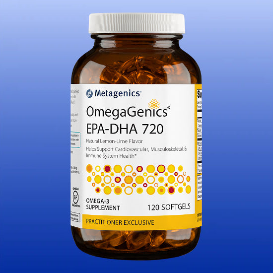 OmegaGenics® EPA-DHA 720 120 Softgels