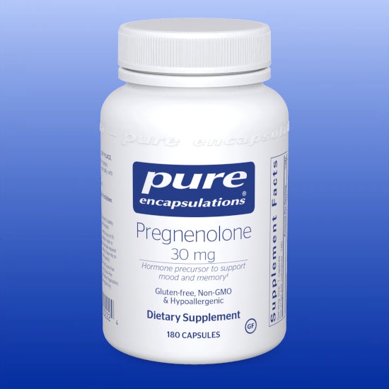 Pregnenolone 30 mg 60 Capsules and 180 Capsules