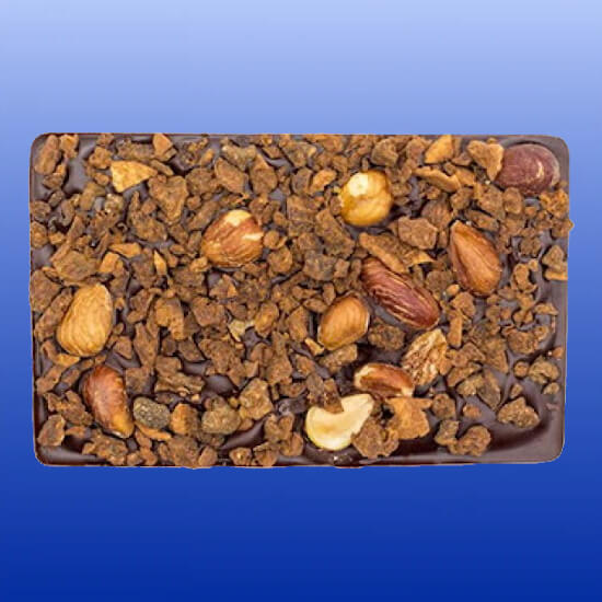 Organic Stone Ground Gourmet Hazelnut Fig Bark