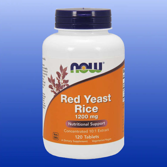 Red Yeast Rice 1200 mg 120 Tablets