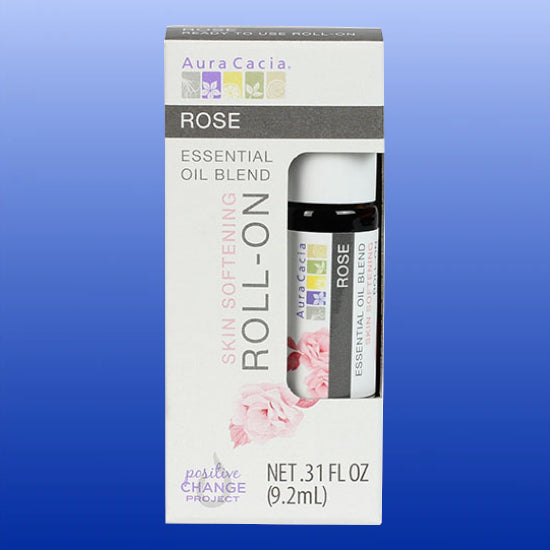 Rose Essential Oil Roll On 0.31 Oz