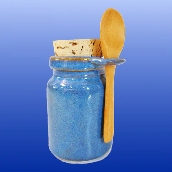 Ceramic Neti Salt Storage Jar