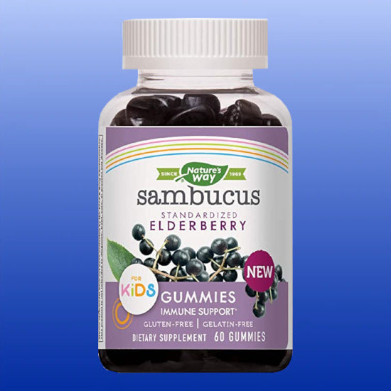 Sambucus Elderberry Gummies for Kids 60 Gummies