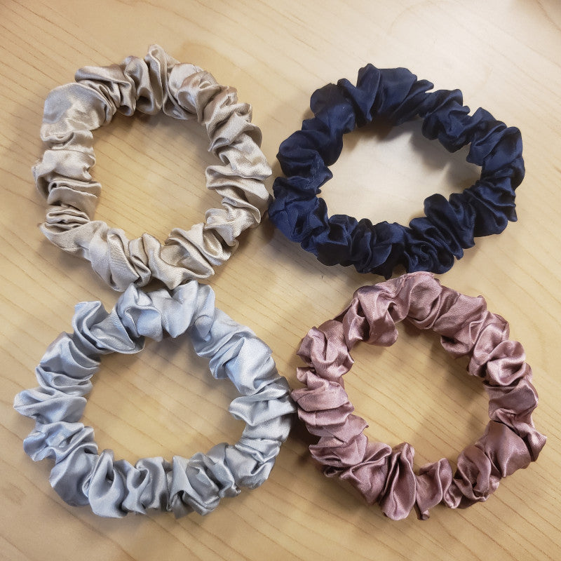 Scrunchie - Dusty Rose - 100% Silk