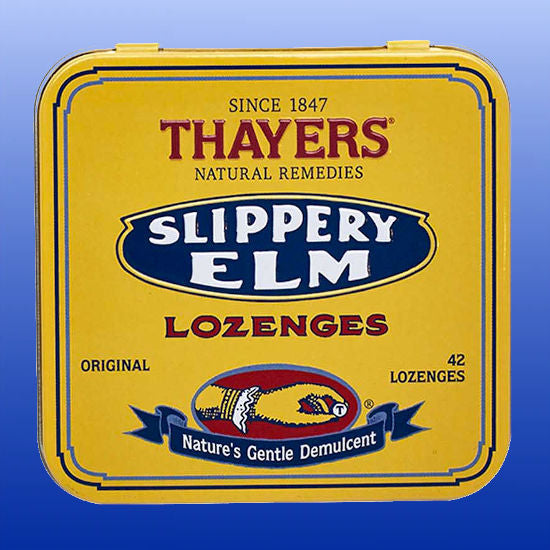 Slippery Elm Lozenges 42 Lozenges