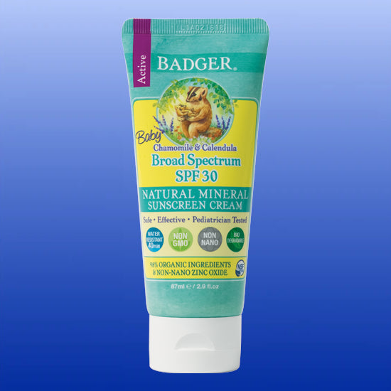 Baby Sunscreen Cream SPF30 2.9 Oz Tube