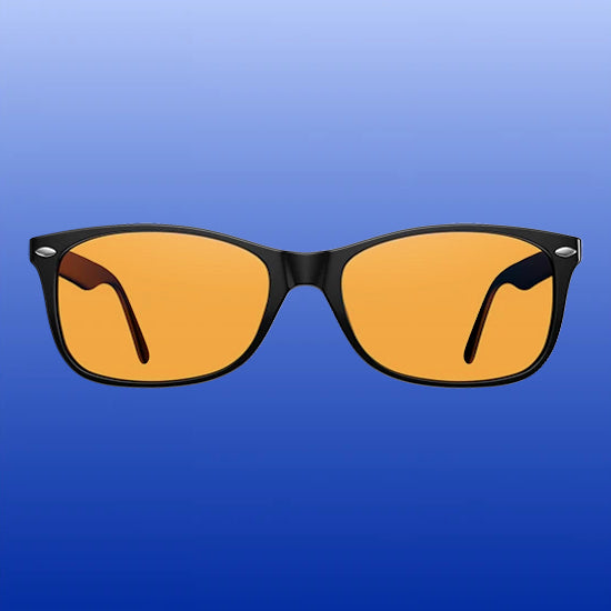 Blue Light Blocking Glasses - Classic - Black