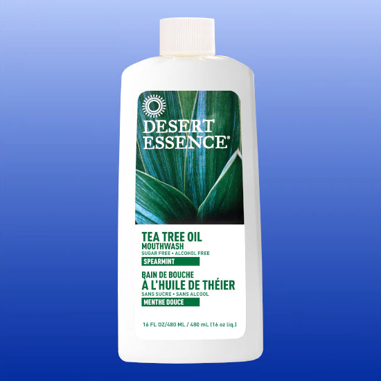 Tea Tree Mouthwash Spearmint 16 Oz