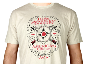Hips Archery Targets Logo T-Shirts