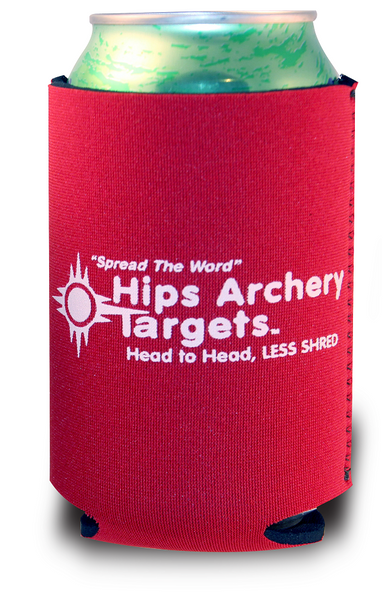 Hips Archery Targets Red Koozie