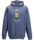 """Joint At The Hips"" College Hoodie - CheekyDoodah"