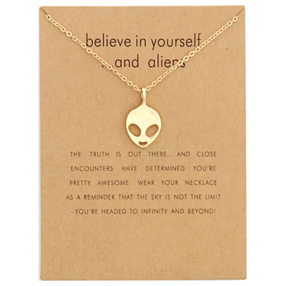 Alien Necklace - CheekyDoodah