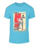 """When You Get Home"" Mens Fashion Tee - CheekyDoodah"