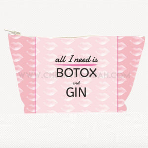 'All I Need Is ...' Large Cosmetic Bag - CheekyDoodah