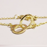 Gold plated handcuff bracelet