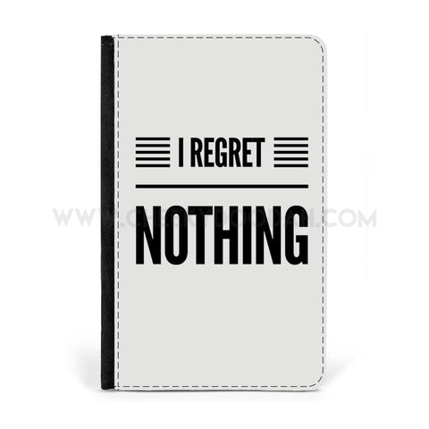 """I Regret Nothing"" Travel Accessories - CheekyDoodah"
