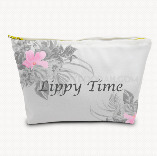 Floral 'Lippy Time' Cosmetic Bag - CheekyDoodah