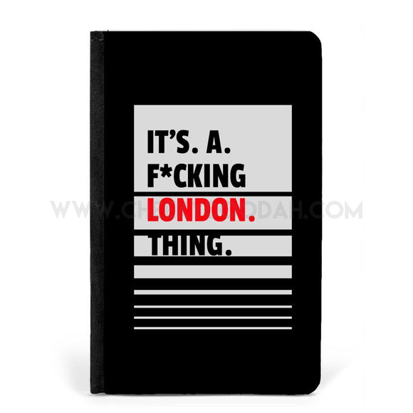 Its A F*cking London Thing Passport Cover & Tag - CheekyDoodah