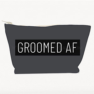 Personalised 'Groomed AF' Toiletries Bag - CheekyDoodah