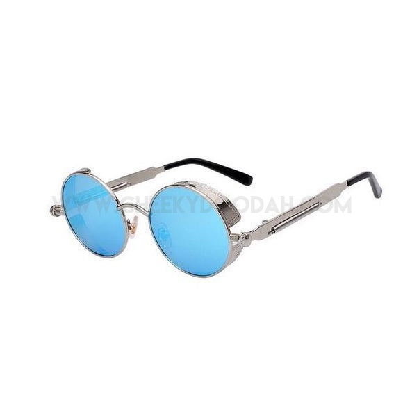 Round Metal Steampunk Sunglasses for Men or Women, 15 styles - CheekyDoodah