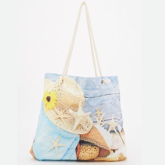 Printed Beach Bags - CheekyDoodah