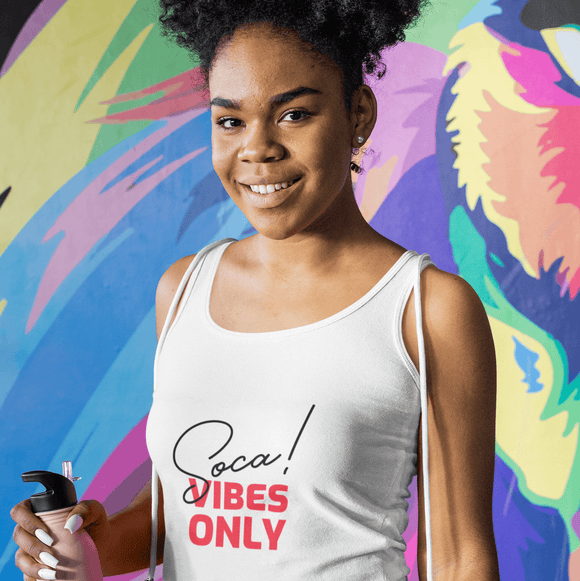 Soca Vibes Only Womens Tank Top - CheekyDoodah