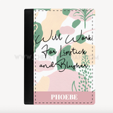 Personalsed 'Will Work For Lipstick & Blusher' Passport Cover - CheekyDoodah