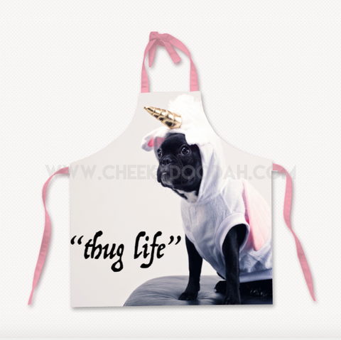 Thug Life Cotton Apron - CheekyDoodah