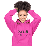 Afro Chick College Hoodie