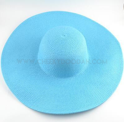 Floppy Beach hat Blue