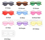 Amelia Candy Colour Sunglasses - CheekyDoodah
