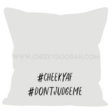 'Middle Finger' Sofa Cushions - CheekyDoodah