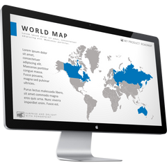 World Map Templates