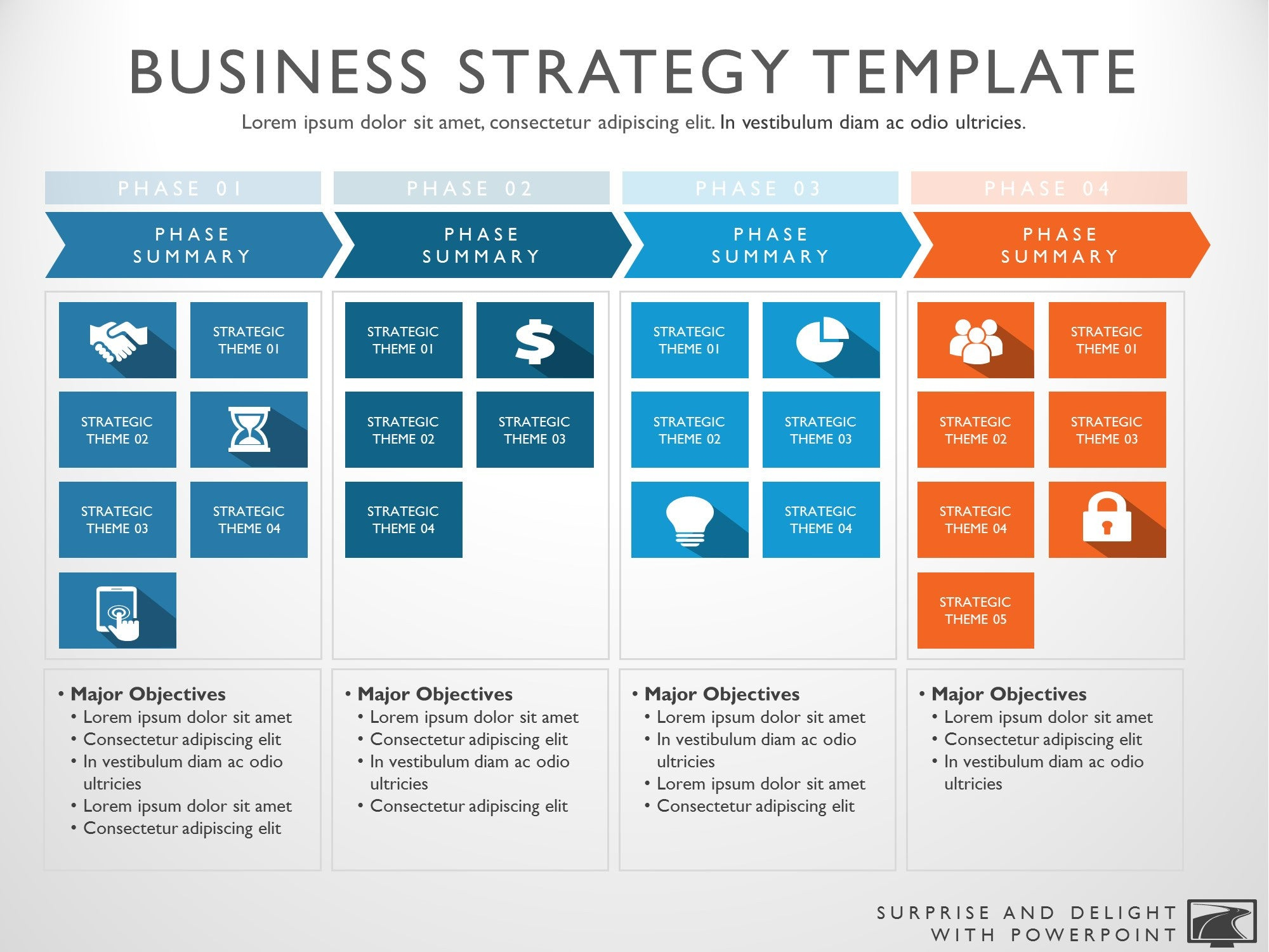 strategy roadmap template koni polycode co