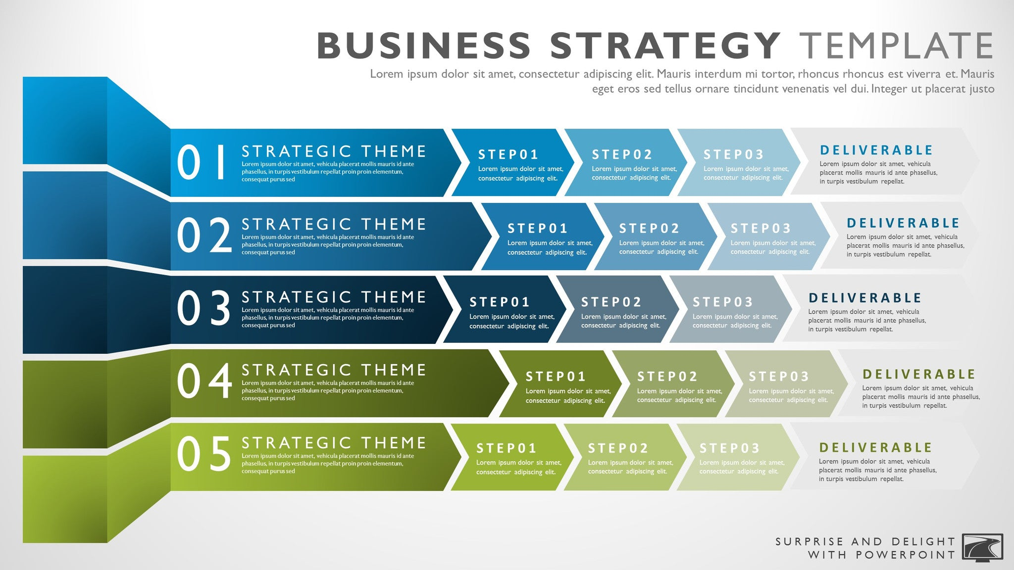 Marvelous Business Strategy Template