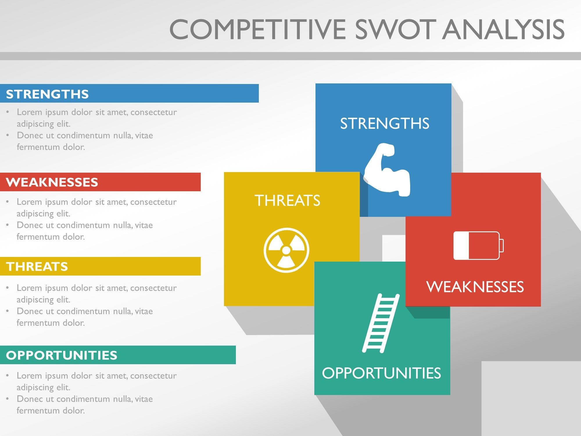 Competitive Analysis Template  Competitor Analysis Template