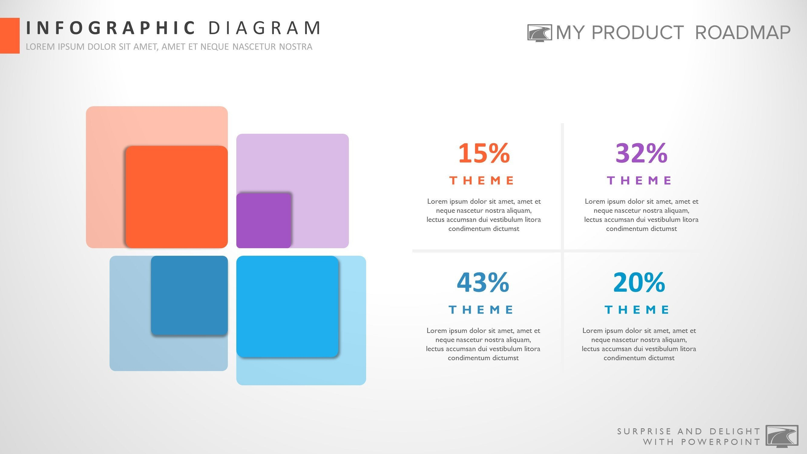 Stage Modern Powerpoint Strategy Infographic Theme Diagram