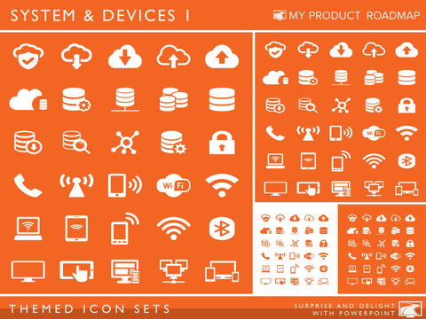 Icon Set - Systems & Devices I