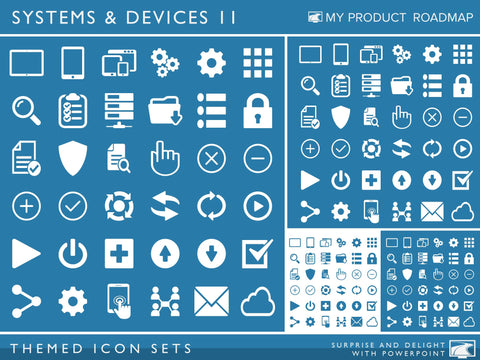 Icon Set - Systems & Devices II